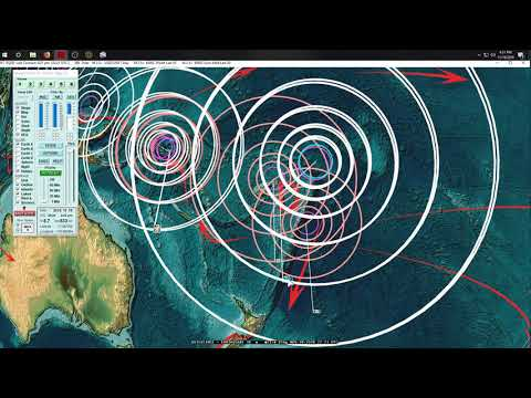11/18/2018 -- Large Earthquake - Deep M6.9 (M6.7) hits West Pacific - 10 day watch - UNREST LIKELY
