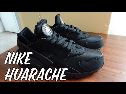How to deep clean Nike Huarache - YouTube