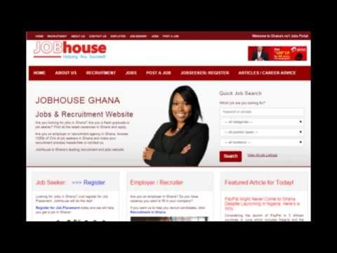 Looking for Jobs in Ghana ???