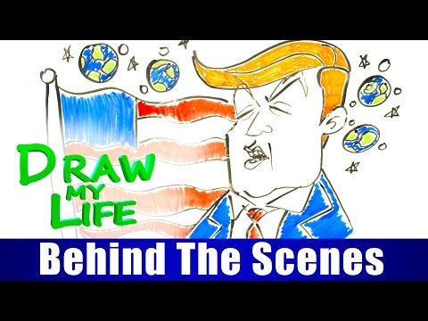 DRAW MY LIFE - Donald Trump (The Musical) BTS