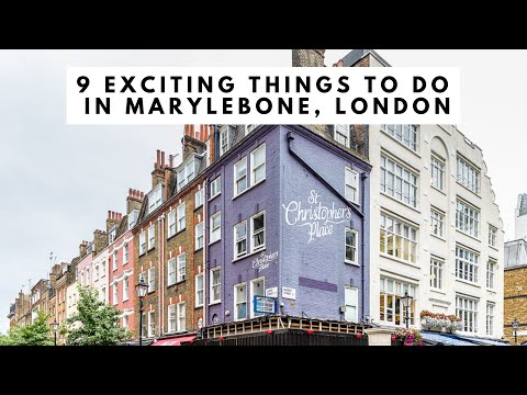 9 THINGS TO DO IN MARYLEBONE, LONDON - Marylebone High Street | Wallace Collection | Marylebone Lane