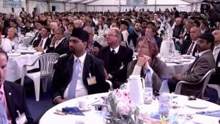 Wiesbaden, Germany: Foundation Stone Ceremony with Hazrat Mirza Masroor Ahmad