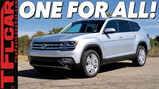 2019 Volkswagen Atlas Review: So Many Choices Your Head Will Spin!