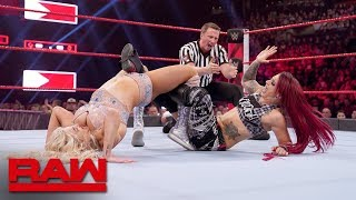 Charlotte Flair vs. Ruby Riott - Beat the Clock Challenge Match: Raw, March 25, 2019