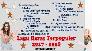 Lagu Barat Terbaru dan Terpopuler Di Indonesia 2017  - 2018