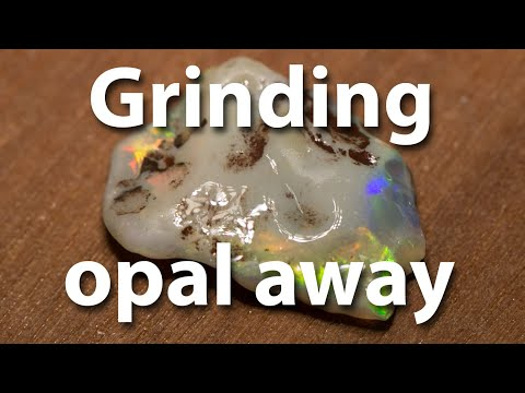 Opal Cutting and polishing. How will it turn out?