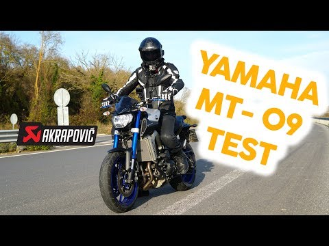 FIRST GAS! - MT 09 TEST