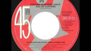 Culture Beat ‎- No Deeper Meaning (Airplay Mix) HQ AUDIO