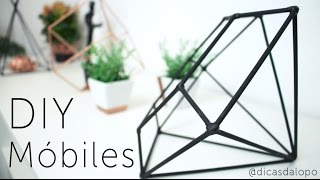 DIY Decor | Móbiles com Palitos de Churrasco | Letícia Lôpo