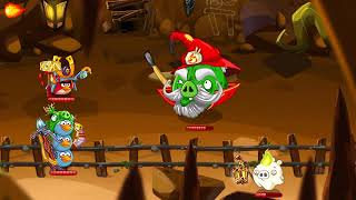 Angry birds epic part 2: chronicle caves bosses 1-6