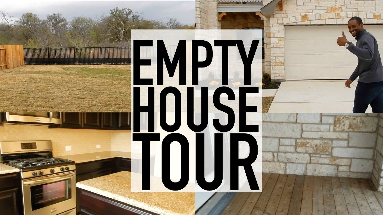 OUR EMPTY HOUSE TOUR!!!