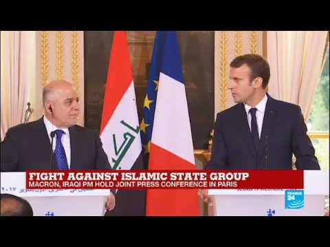 REPLAY - Watch Macron and Iraqi PM Al-Abadi joint press conference