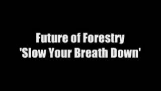Slow Your Breath Down by Future of Forestry