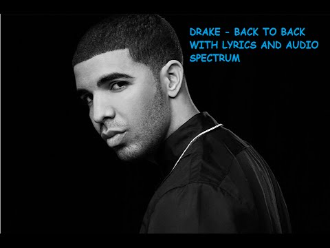 Back To Back Drake Lyrics With Audio Spectrum 1hour Version| Back To Back Freestyle | Meek Mill