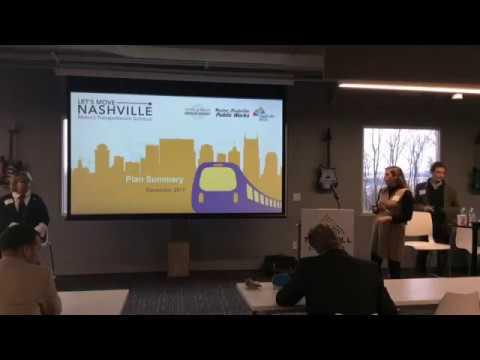 NTC Nashville Transit  Event - 12/19/2017