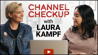Advice from a YouTube Partner Manager | Channel Checkup ft. Laura Kampf
