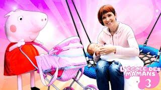 Vidéo en français pour enfants. L'école des mamans № 3 : promenade de bébé