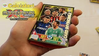 CARD INVINCIBILE E TROFEO NEL BOX! CALCIATORI ADRENALYN XL 2017-18 BOX PARTE 2