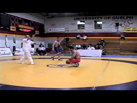2002 Senior Greco National Championships: 84 kg Hakan Kadir vs. Nico Jacobs