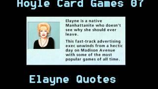 Hoyle Card Games - Elayne Quotes