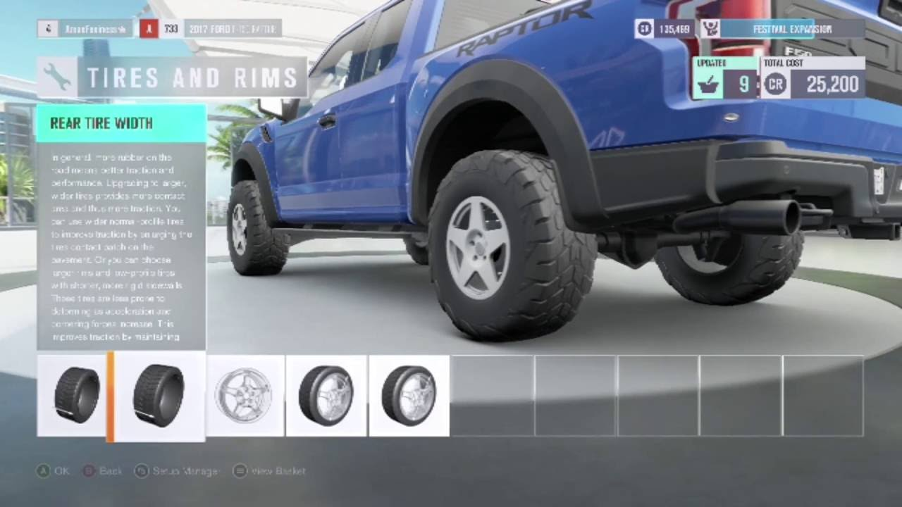 a lift kit for the f150 in forza horizon 3 upgrades. Black Bedroom Furniture Sets. Home Design Ideas
