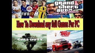 Download Video How to Download any PC Games, কি ভাবে ডাউনলোড করবেন কম্পিউটার গেমস। MP3 3GP MP4