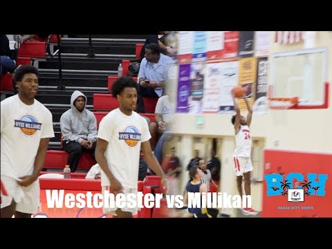 Jordan Brinson RUNS the SHOW | Westchester vs LB Millikan @ Pac Shores