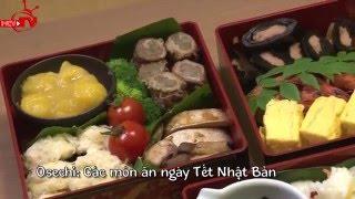 Tìm hiểu và hưởng thức món ăn truyền thống ngày tết của Nhật Bản.