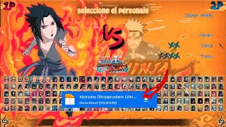 DOWNLOAD Naruto mugen fight blajing storm mod battle ninja android