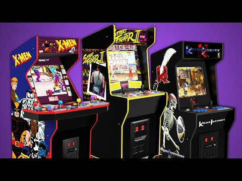 Arcade1up 2021 reveal from Action Talk