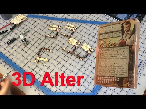 How to Make 3D Card Alters and Encase them in Resin