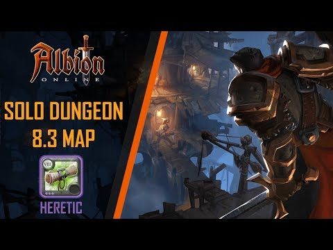 Albion Online | 8.3 Solo Random Dungeon | Heretic Dungeon - PVE Badon Build