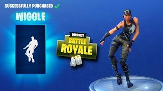 FORTNITE DAILY SKIN RESET - WIGGLE EMOTE!! Fortnite Battle Royale New Daily Items in Item Shop