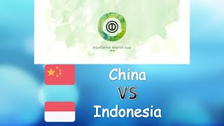 Osu Taiko World Cup 2016 Semifinals Loser Bracket Match X China Vs Indonesia