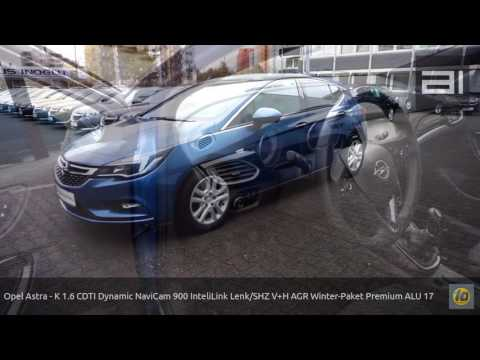 Opel Astra - K 1.6 CDTI Dynamic NaviCam 900 InteliLink Lenk/SHZ V+H AGR Winter-Paket Premium ALU 17