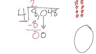 [4.NBT.6-1.4] Four digit division - Common Core Standard
