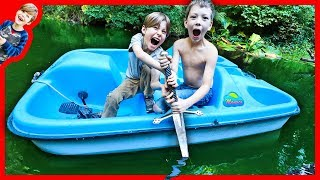 ABANDONED SWORD FOUND IN POND WHILE EXPLORING and TREASURE HUNTING!