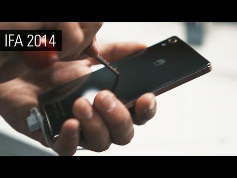 Обзор Huawei Ascend P7 Sapphire Edition