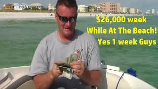 Tidom $26,000 week while at the beach! 2016 reviews