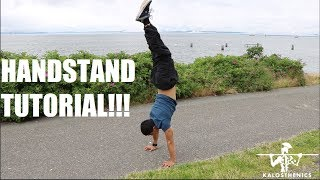master the handstand handstand tutorial progessions ft nick fay