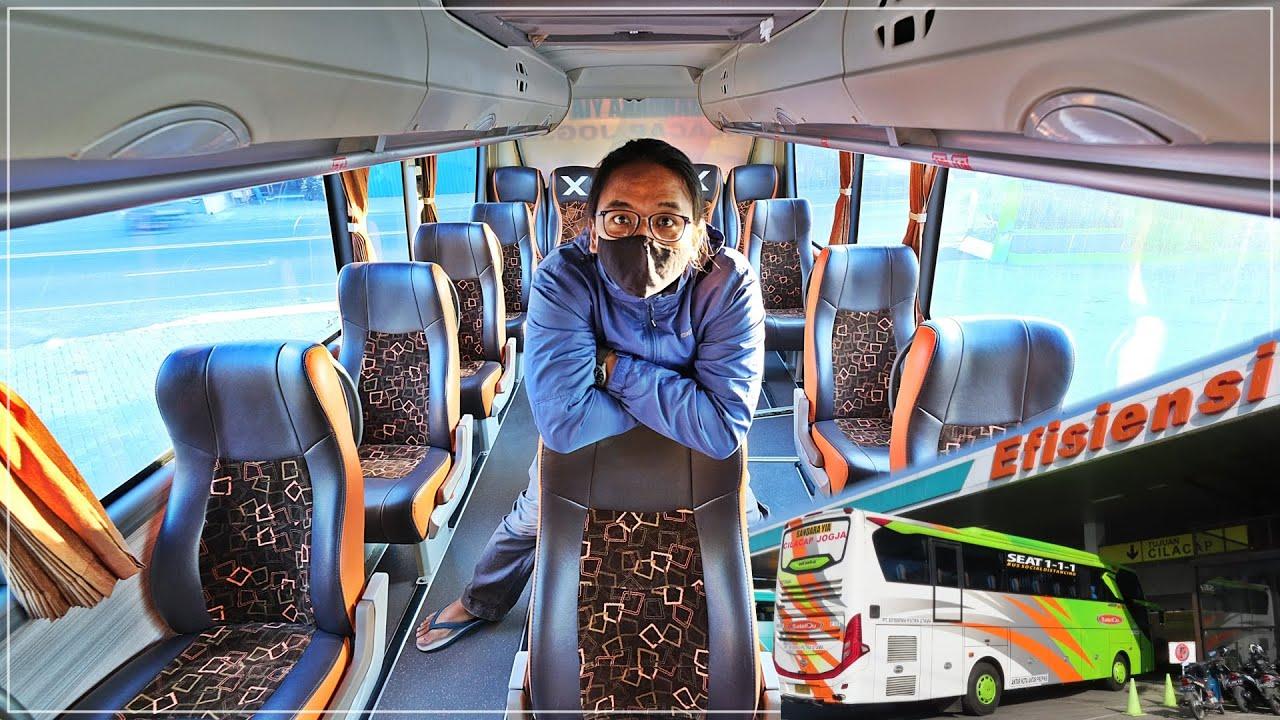 JOGJA - CILACAP | Naik Bus Efisiensi Social Distancing