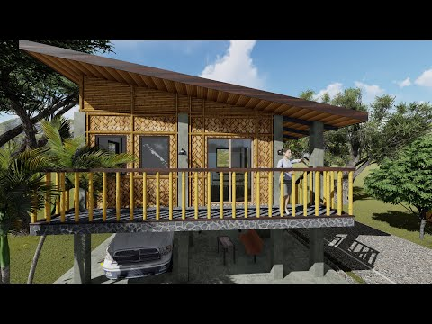 SMALL HOUSE (5M x 6M + TERRACE ) AMAKAN DESIGN