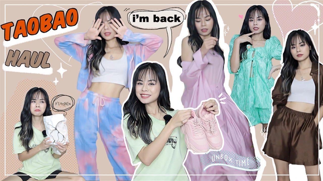 TAOBAO Haul Đã Trở lạiiiiii ♡ Unbox Taobao Haul ♡ Tuta.nguyen