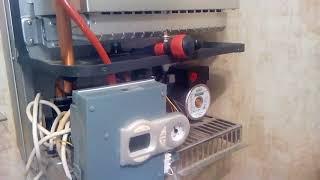 Замена реле на плате управления отвечающей за вентилятор котел Ферроли F 24