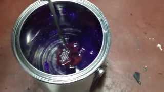 Pure purple micro flakes