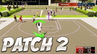 PATCH 2 SAVED NEXT GEN NBA2K21! NO MORE CHOPPY PARKS, CONTACT DUNKS NERFED! FIRST GAME ON PATCH 2