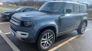 Сел в новый Land Rover Defender - втопил