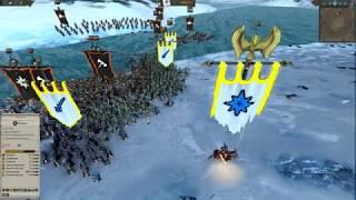 Высшие эльфы vs Воины Хаоса  Вскрываем консервы   Total War Warhammer 2