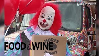 Send a Scary Clown to Deliver Donuts to Your Friends | Food & Wine