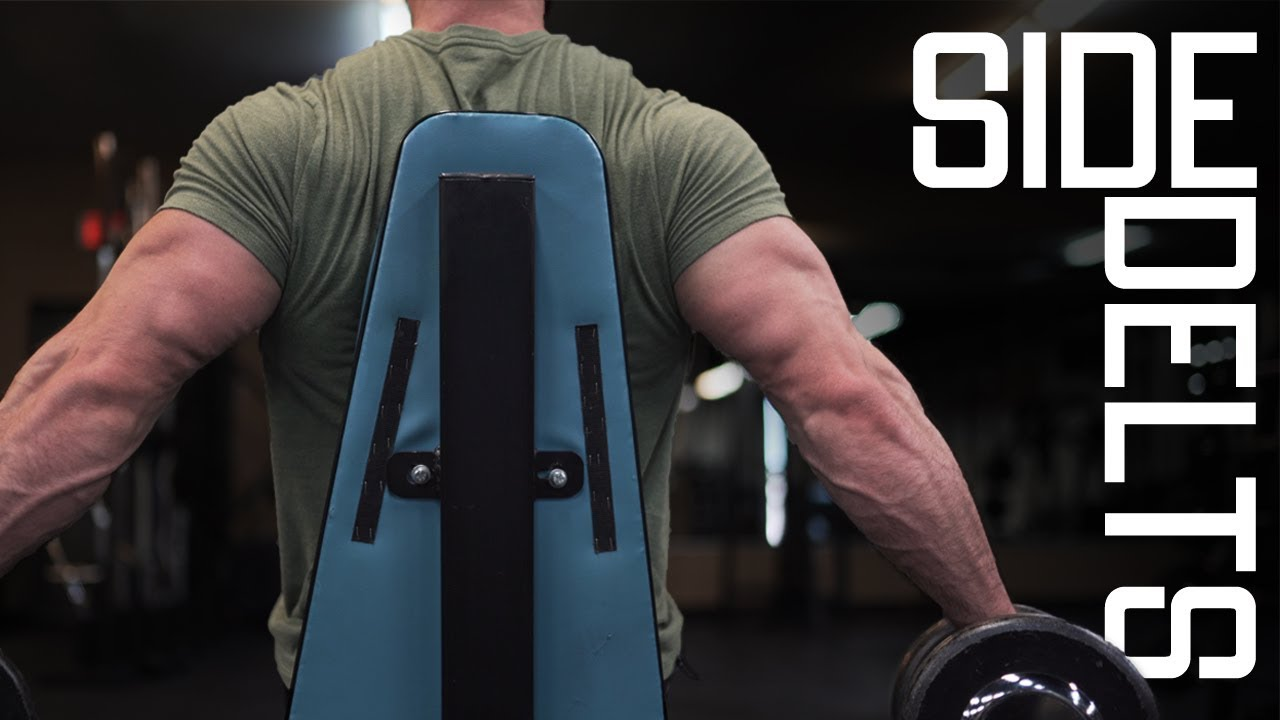 Download How To Build Bigger Side Delts | Lateral Deltoid Workout